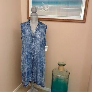 Cool Denim Look Dress 💕